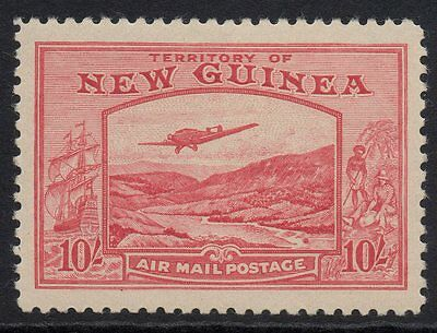 Papua New Guinea - 1939 Bulolo Goldfields 10/- pink - MLH