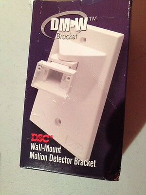 DSC DM-W Bracket, Wall Mount for motion, all wires concealed, single gang plate