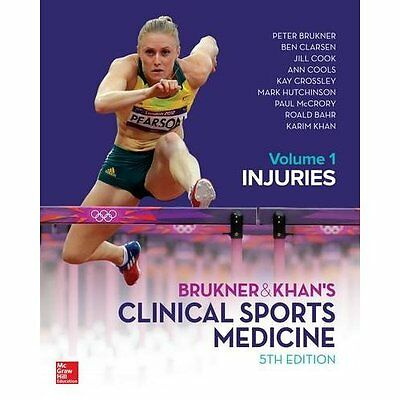 Brukner Khan's Clinical Sports Medicine Injuries Vol.1 5e Clarsen. 9781743761380