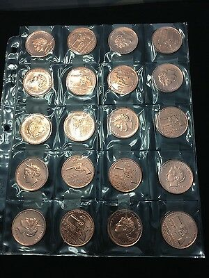 20 Copper Bullion Coins (1 oz each) 2012 BudsGunshop 2 dollar coins