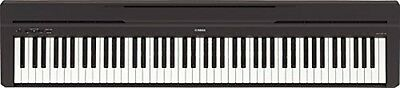 New YAMAHA P-series P-45B Electronic Piano Black  EMS Speedpost From JAPAN