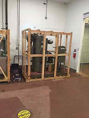 Fulton 10 Hp Nat. Gas Steam Boiler Output 345 Lb-Hr Unusual Below Market Value !