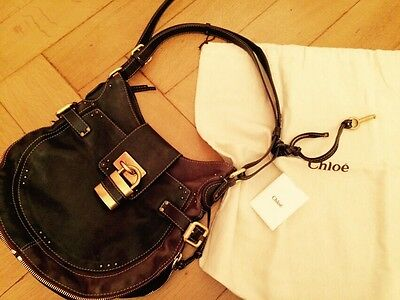 Original Chloé Paddington Shopper Bag Tasche Handbag Umhängetasche