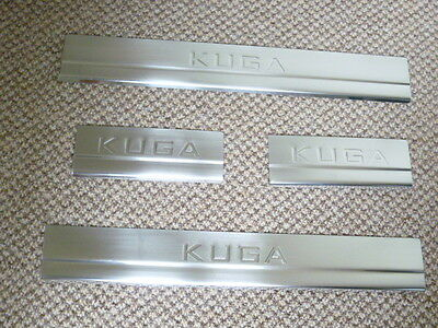 Ford Kuga Mk1 2008 - 2013 Door Sill Plates Stainless Steel 1214 300141