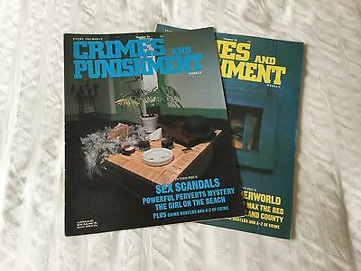 2 X Crimes and Punishment  Magazine Issue No 18 And 19