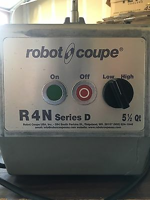 Robot Coupe R4N Series D Food With Slicing Blades and Blending Bowl!