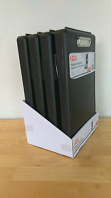 NEW Clipboard Organizers by HDX, Black, CASE OF 4 (free shipping)