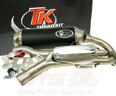 Auspuff Turbo Kit Quad / ATV für Yamaha YFM 700 Raptor exhaust Turbo Kit Quad /