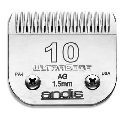 Andis Ultraedge #10 Replacement Blade Fits Most Clippers ~ NEW