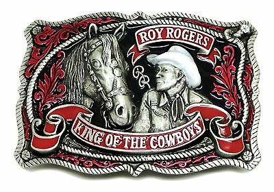 Roy Rogers Belt Buckle Western Cowboy Horse Officially Licensed Great American