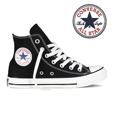 Mens Converse Chuck Taylor All Star High Top Canvas Fashion Sneaker Black All SZ