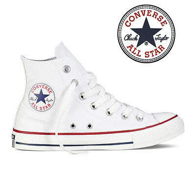 Mens Converse Chuck Taylor All Star High Top Canvas Fashion Sneaker Optic White
