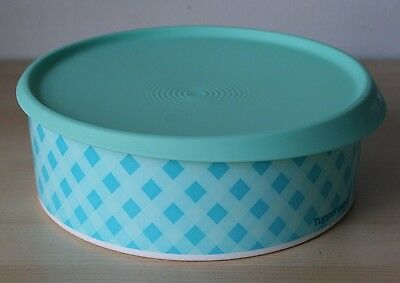 """Tupperware  One-Touch Round Cookie Canister Container 9.5"""""""
