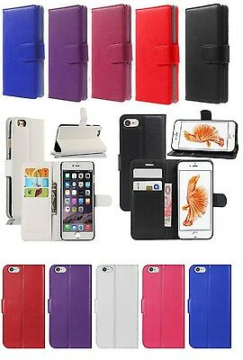New Flip/Wallet Leather Case Cover Pouch For Apple iPhone 5/5S/SE 6/6s 7 Plus