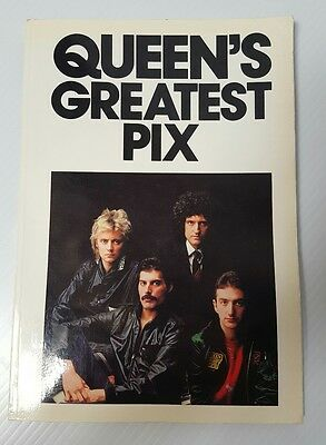 Book QUEEN queens greatest pix good condition book  Freddie mercury