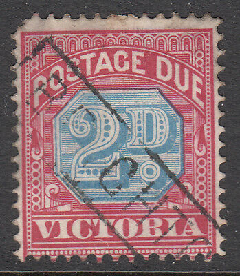 Victoria - Postage Due - Boxed BRIGHTON cancel