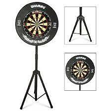 **Portable Dartboard Stand for the Serious Darts Player**