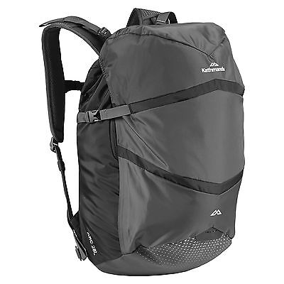 Kathmandu Arc Commuter Travel Hiking Backpack Rucksack 28L v2 in Black New