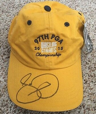 Jason Day Signed 2015 PGA Championship Whistling Straits Golf Hat New proof