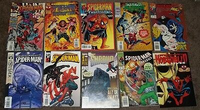 Spider-Man - Lot of 10 Comics - Mini Series - Collection - Marvel