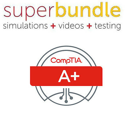 CompTIA a+ 220-901/902 All-In-One Exam Guide - NEW Pro Videos + Best Book + Q&A