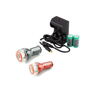 Exposure Lights Flash Flare Light Set Pack   USB Charger Rechareable Batteries a