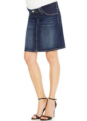 NEW - Mavi - Rosanne Denim Skirt in Indigo Nolita - Maternity Skirt