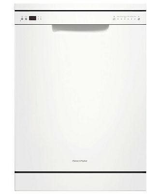Fisher & Paykel 60cm White Freestanding Dishwasher DW60CHW1