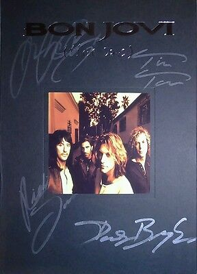 BON JOVI ALL MEMBERS THESE DAYS LTD. EDITION 2CD's+BOOK HAND SIGNED AUTOGRAPHED