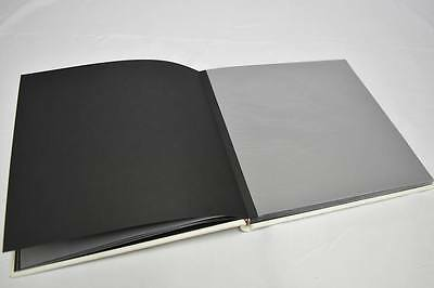 set of 2 White Leather Dry Mount Photo Album for Weddings Photo Booth business