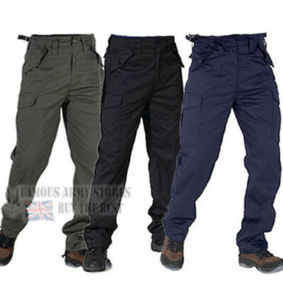 Tactical 6 Pocket BDU Army Military Combat Trouser Pant Bottoms Waist Adjusters