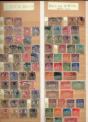 Album Collection 1185 Timbres Differents D'allemagne