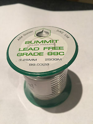 Summit 250g Lead Free Soldering Wire