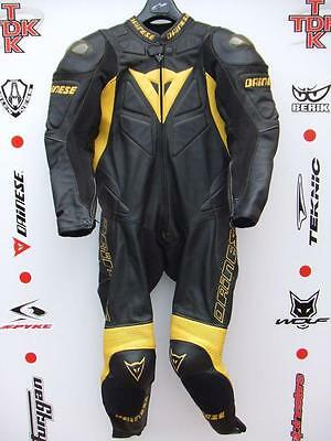 Dainese Protech 1 piece race suit with hump uk 42 euro 52