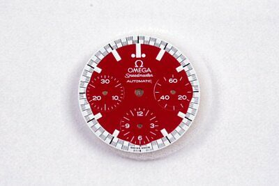 "Omega Speedmaster ""reduced"" Zifferblatt rot ""Michael Schumacher"""