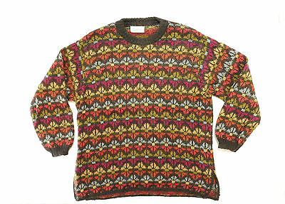 Benetton Vintage Maglione Sweater Mohair Poliamide