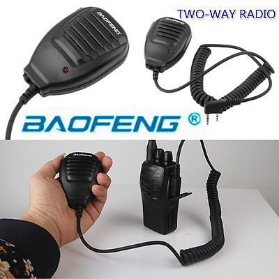 Baofeng 2-Way Radio Speaker Mic for Baofeng BF-888S UV-5R UV-5RA UV-5RB UV-5R E5