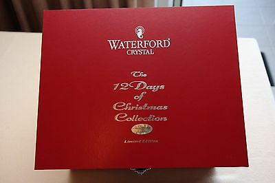 Waterford Crystal - 12 Days of Christmas Tumblers - Boxed