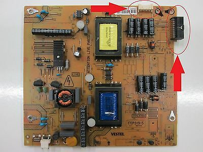 "LED Power Board 39"" Digihome 39LED167 (17IPS19-5) TV PARTS"