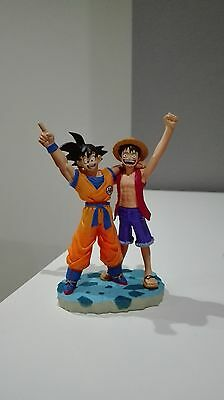 Dragon Ball Z One Piece 40 Anniversary Megahouse Goku Gokou Luffy Capsule