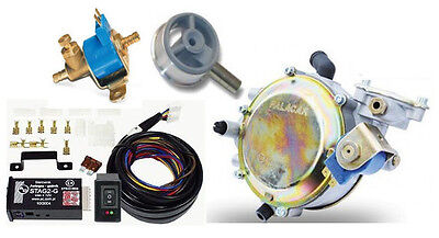 Autogas Conversion kit for Carburettors Systems up to 133 kW / 180 HP LPG