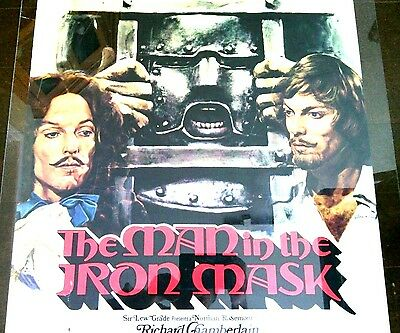 The Man in the Iron Mask Original Film Movie Poster Richard Chamberlain Pictures