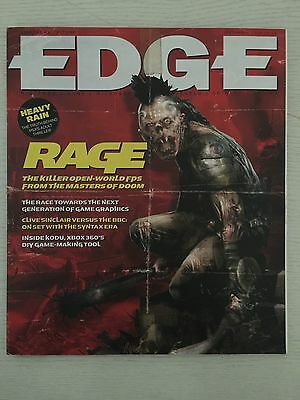 Edge Games Magazine No 205 Sept 2009 Left 4 Dead 2 Dragon Age PaRappa The Rapper