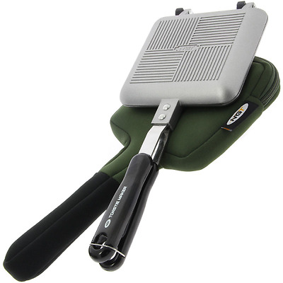 Ngt Toastie Maker Toaster With Neoprene Case Bag Carp Fishing Camping Outdoors