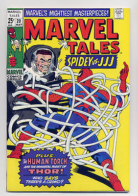 Marvel Tales #20 VF 1969 Comic Book Reprint Spiderman Thor Stan Lee Ditko Kirby