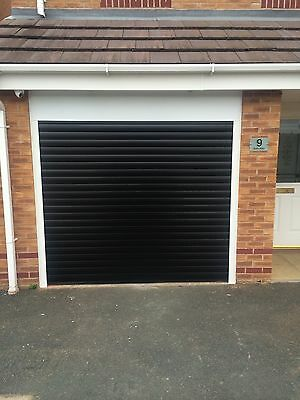 Remote Controlled electric roller Garage Door  Insulated Double Skin Ce Marked