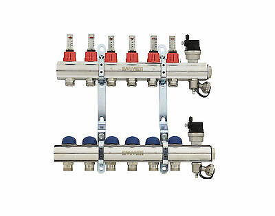 Emmeti Topway Type 2 - Underfloor Heating Manifold - 2 to 12 Port
