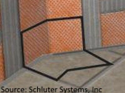 Schluter Systems Kerdi Inside Corners 135 Degree - 2 Pack