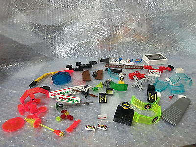 Vintage Lego lot of blocks and special pieces widows translucent pieces SPACE,