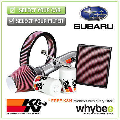 SUBARU Impreza 2008- All K&N KN Performance Filters inc Air, Oil & Intake Kits